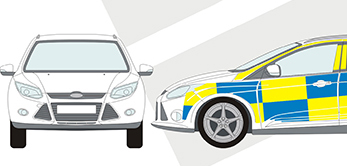 Bluelite Graphics In Vehicle Graphics - Vinyl decals for cars uk