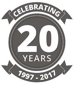 20 Years of Partnership Logo