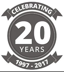 20 Years of Partnership Logo