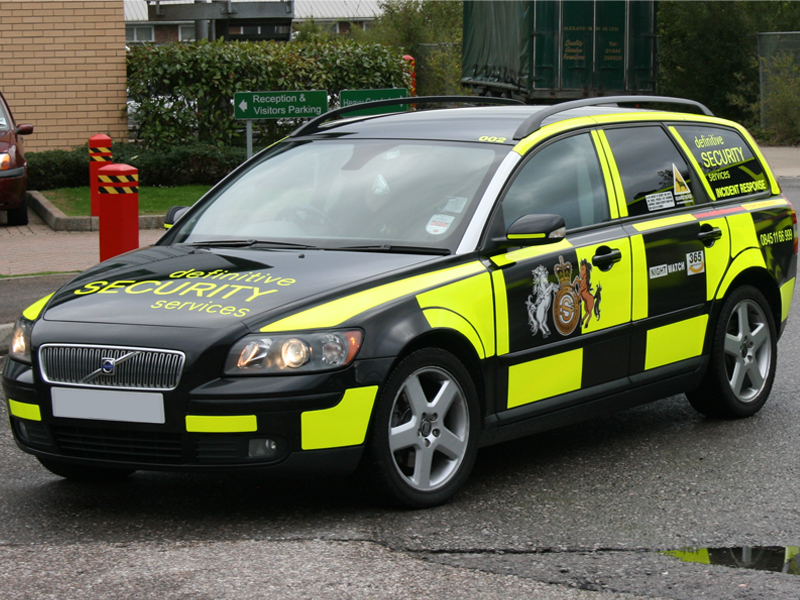 Security Vehicle Livery Bluelite Graphics
