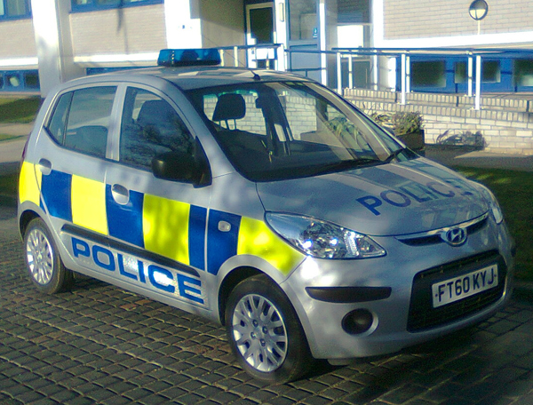 Police Vehicle Livery – Bluelite Graphics
